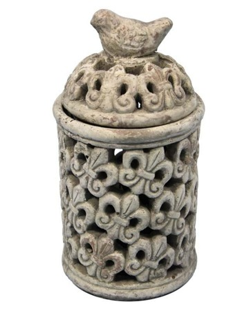 Lampion ceramiczny Gaja 24x12,5x12,5