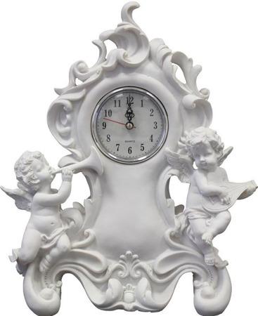 Zegar anioł kamienny  32.5x28x8  CM