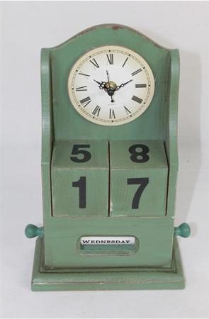 Zegar kalendarz 28x18x8 CM