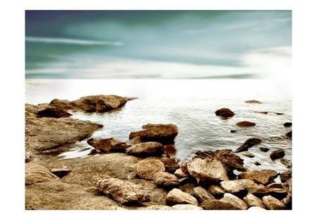 Fototapeta - Skalista plaża