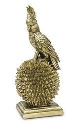 Art.Dekoracyjny Bond Złota Papuga 44x18cm