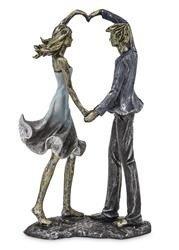 Figurka Para małżeństwo serce