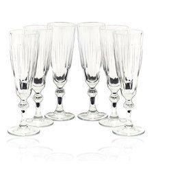 Kieliszki Diamond do szampana 6 szt Pasabahce