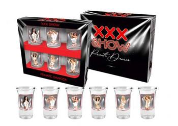 Kieliszki xxx show 35 ml czarny BGtech
