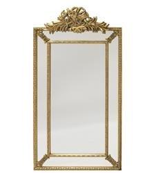 Lustro Stylowe Złota Rama 146x77x6,5