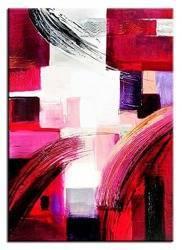 Obraz - Abstrakcje - olejny, ręcznie malowany 50x70cm