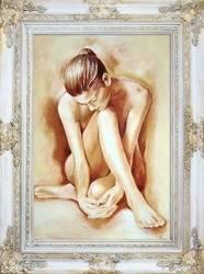 """Obraz """"Akty"""" ręcznie malowany 78x98cm"""