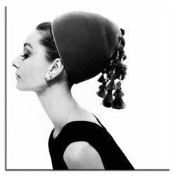"""Obraz """"Audrey Hepburn"""" reprodukcja 40x40 cm"""