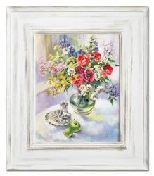 """Obraz """"Bukiety mieszane """" ręcznie malowany 66x76cm"""