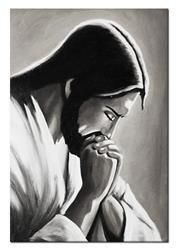 """Obraz """"Chrystus"""" ręcznie malowany 50x70cm"""