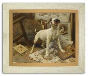 Obraz - Dogs&Cats 27x31cm