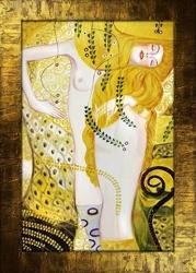 Obraz - Gustaw Klimt - olejny, ręcznie malowany 77x107cm