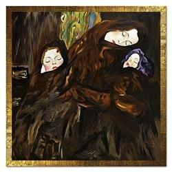 """Obraz """"Gustaw Klimt"""" ręcznie malowany 108x108"""