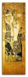 """Obraz """"Gustaw Klimt"""" ręcznie malowany 50x150cm"""