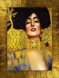 """Obraz """"Gustaw Klimt"""" ręcznie malowany 67x87cm"""