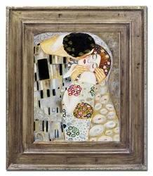 """Obraz """"Gustaw Klimt"""" ręcznie malowany 72x82cm"""