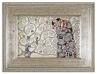 """Obraz """"Gustaw Klimt"""" ręcznie malowany 92x122cm"""