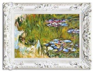 """Obraz """"Impresjonisci"""" ręcznie malowany 85x115cm"""