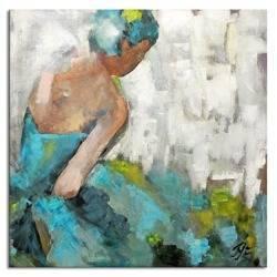 Obraz - Inne - olejny, ręcznie malowany 90x90cm