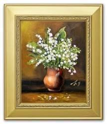 """Obraz """"Inne"""" ręcznie malowany 27x32cm"""