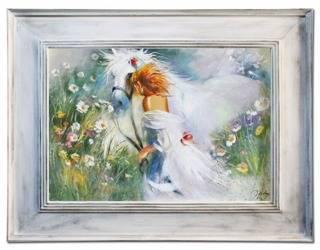 """Obraz """"Inne"""" ręcznie malowany 86x116cm"""