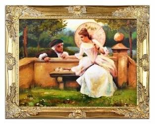 Obraz - Inni - olejny, ręcznie malowany 37x47cm
