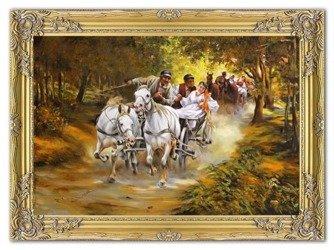 """Obraz """"Inni"""" - olejny, ręcznie malowany 75x105cm"""