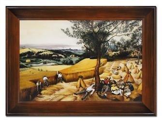 """Obraz """"Inni"""" ręcznie malowany 86x116cm"""