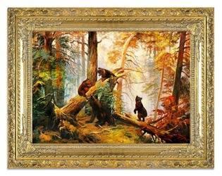 """Obraz """"Iwan Iwanowicz Szyszkin """" ręcznie malowany 80x110"""