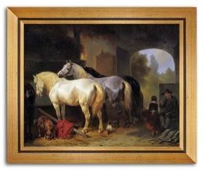 Obraz - Konie 24x30cm
