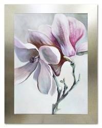 """Obraz """"Kwiaty nowoczesne"""" ręcznie malowany 64x84cm"""