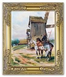 Obraz - Malarstwo polskie 27x32cm