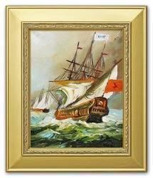 Obraz - Marynistyka - olejny, ręcznie malowany 27x32cm
