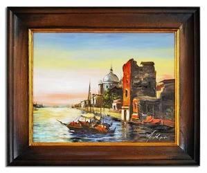 """Obraz """"Marynistyka"""" ręcznie malowany 45x55cm"""