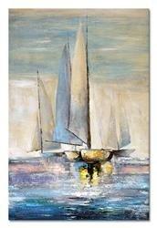 """Obraz """"Marynistyka"""" ręcznie malowany 60x90cm"""