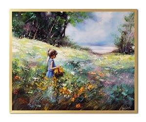 """Obraz """"NOWOŚCI"""" ręcznie malowany 43x53cm"""