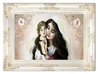"""Obraz """"NOWOŚCI"""" ręcznie malowany 90x120cm"""