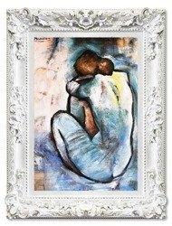 """Obraz """"Pablo Picasso, Salvador Dali i inni"""" ręcznie malowany 85x115cm"""