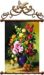 Obraz - Roze - olejny, ręcznie malowany 67x100cm
