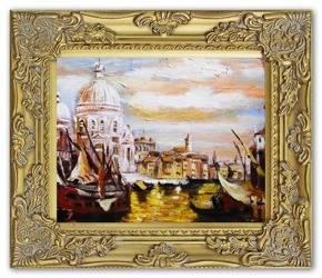 Obraz - Wenecja - olejny, ręcznie malowany 27x32cm