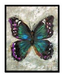"""Obraz """"Zwierzęta"""" ręcznie malowany 43x53cm"""