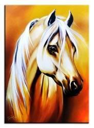 """Obraz """"Zwierzęta"""" ręcznie malowany 50x70cm"""