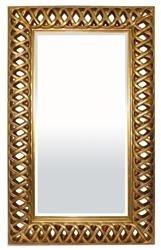 Oryginalna Stylowa Rama lustro Złoto 153x93x6 cm