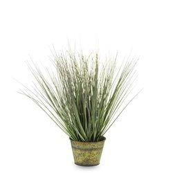 Roślina Dekoracyjna w doniczce sztuczna trawa H:45