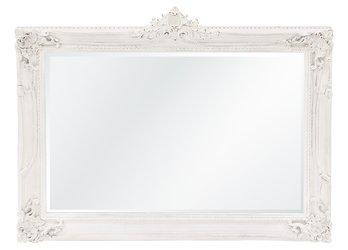 Stylowa Rama Francuska lustro biały drewno