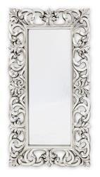 Stylowa Rama lustro srebro