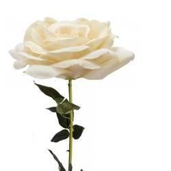 Sztuczny kwiat róża herbaciana h:70 cm