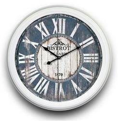 Zegar Rzymski Wiszący Retro Duży 58x58cm