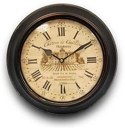 Zegar Rzymski ścienny Motyw Retro 30x30cm