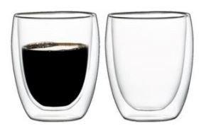 Zestaw szklanek termicznych 2x 350 podwójne szkło